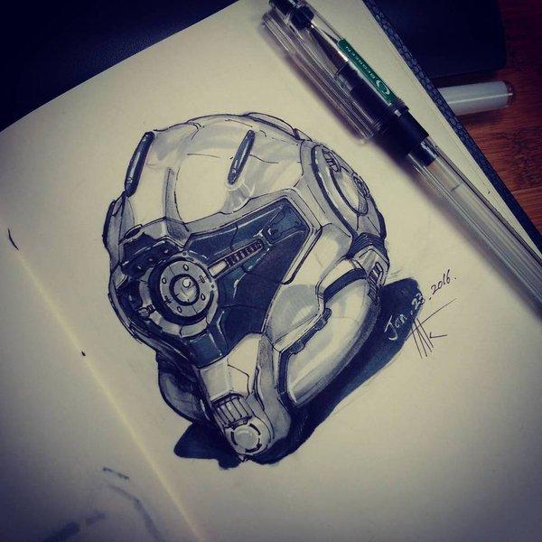 600x600 Shahin Ghasemi On Twitter Robot Head Or Mask.
