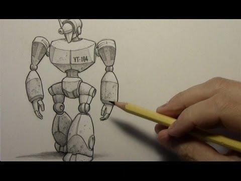 480x360 Drawing Time Lapse Robot