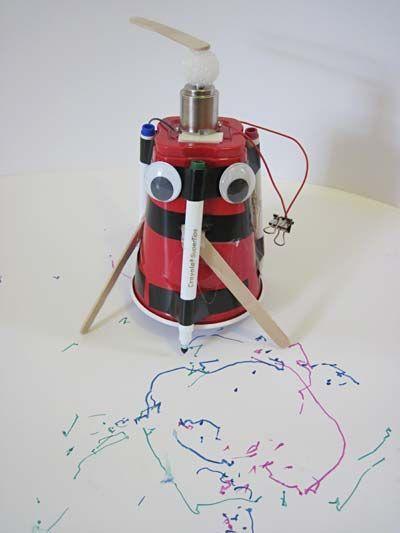 400x533 Robotics Science Project Art Bot Making A Robot Drawing. Stem
