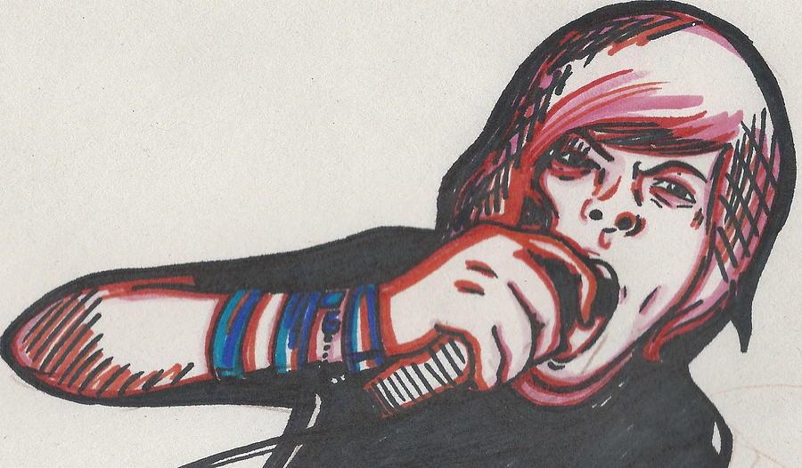 900x526 Rock N Roll Drawing By Michelle Cruz