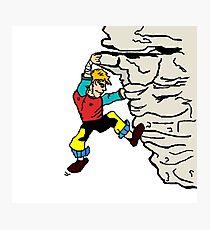 210x230 Rock Climber Drawing Wall Art Redbubble