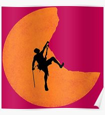 210x230 Rock Climbing Drawing Posters Redbubble