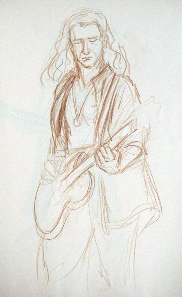 600x979 70's Rock Star Theme, Photo And Artwork. The Drawing Club