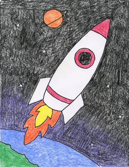 538x700 Rocket