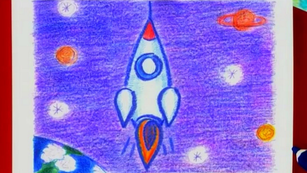 1280x720 Learn How To Draw A Rocket!
