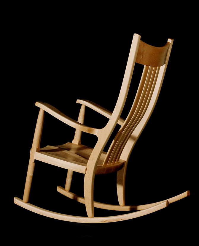 671x828 Designing A Rocking Chair