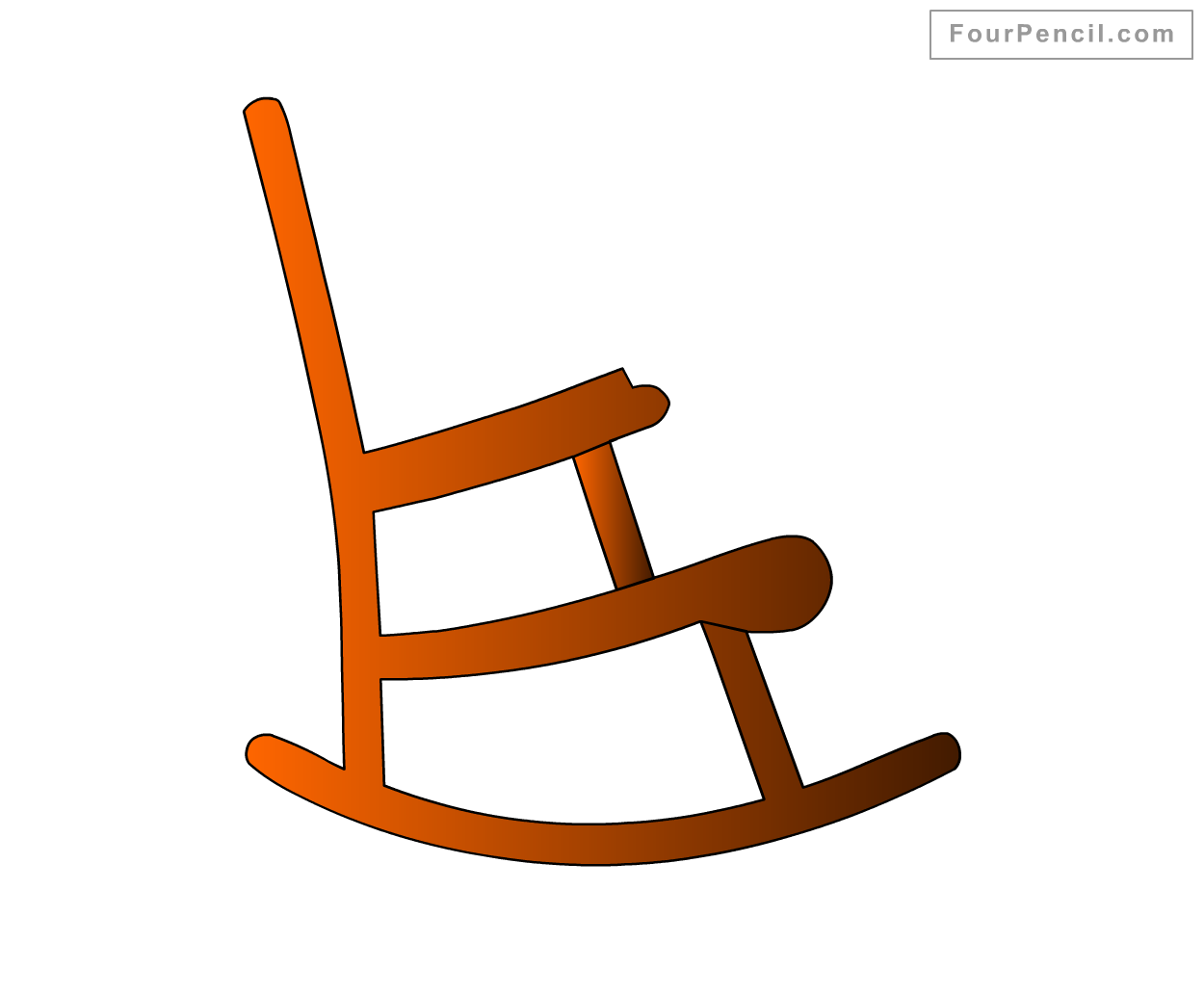 1250x1032 How To Draw Rocking Chair For Kids Step By Step Drawing Tutorial