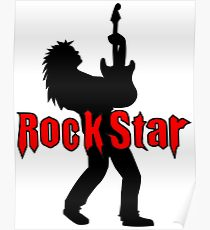 210x230 Rockstar Drawing Posters Redbubble