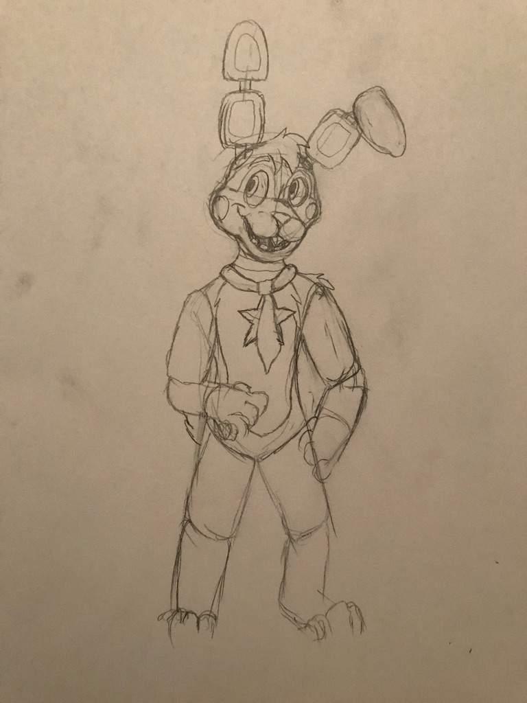 768x1024 Rockstar Roger Drawing Five Nights At Freddy's Amino