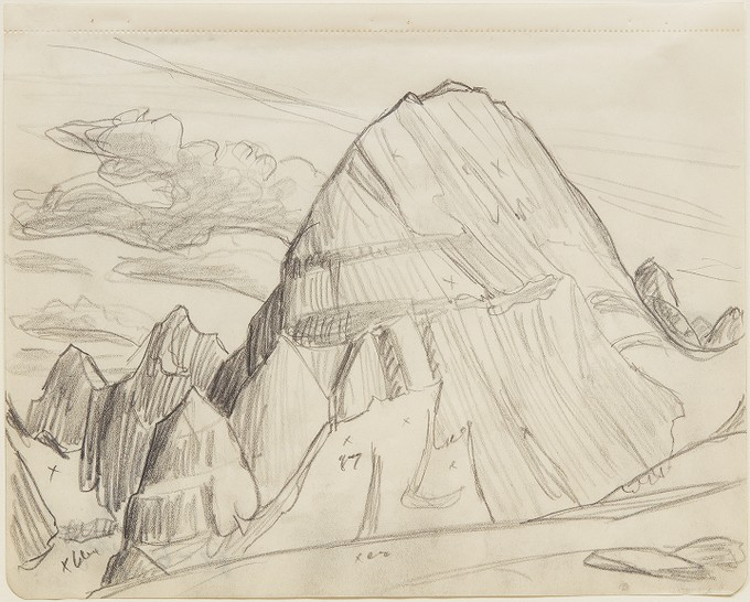 680x546 Rocky Mountain Drawing 9