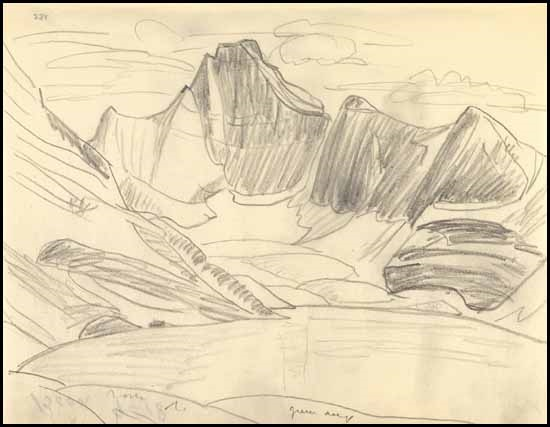 550x427 Rocky Mountain Drawing 9