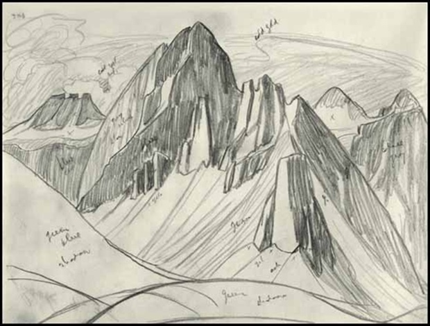 620x470 Rocky Mountain Drawing 9