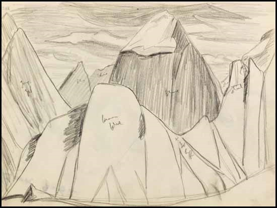 550x413 Rocky Mountain Drawing 9