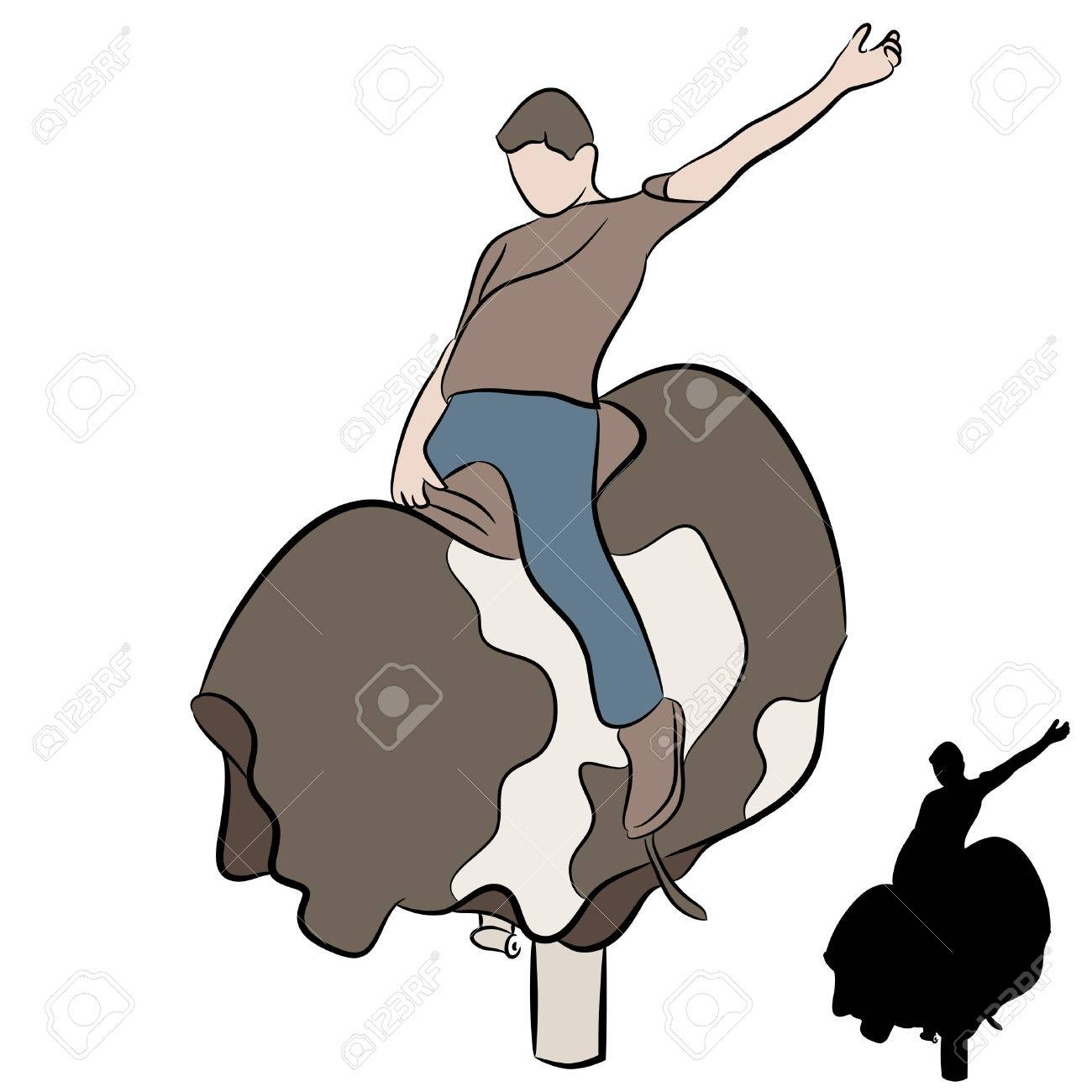 1300x1300 Bucking Bull Stock Photos. Royalty Free Business Images