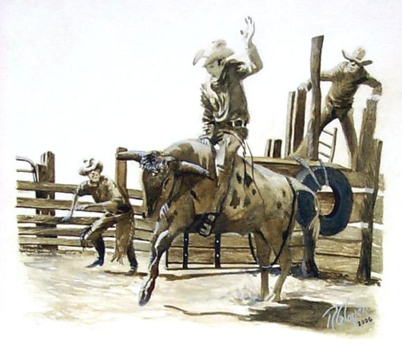 580x510 Bull Rider