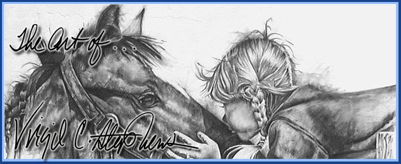 798x327 Western Pencil Drawings Of Rodeo And Ranch Cowgirls By Virgil C