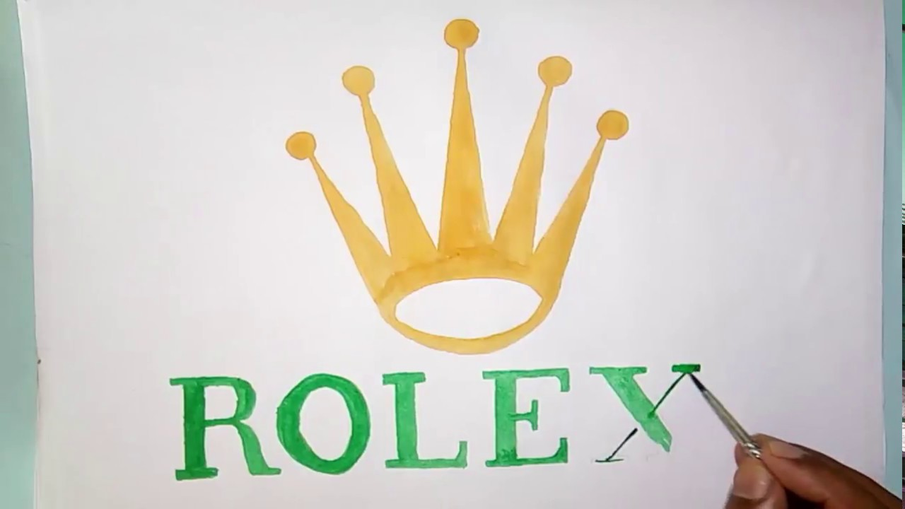 1280x720 How To Draw The Rolex Symbol (Symbol Drawing)