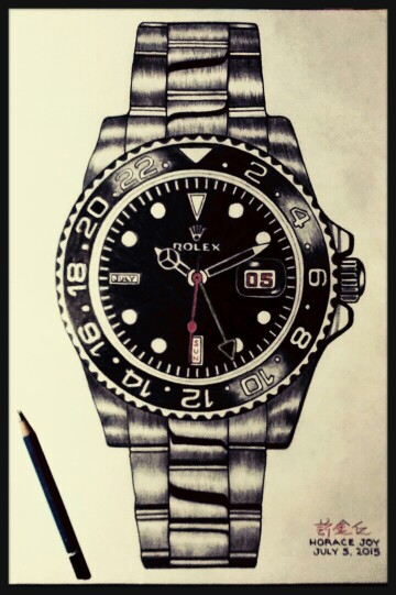 360x541 My Drawing Rolex My Drawings Drawings