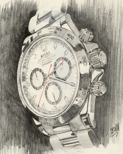 480x600 Rolex Watch Drawings