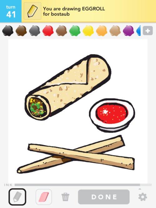 500x667 Eggroll Drawings