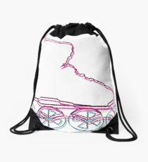 210x230 Roller Skates Drawing Drawstring Bags Redbubble