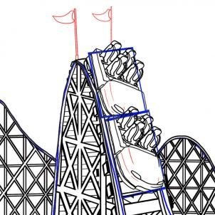 302x302 Images For Gt Roller Coaster Drawing Quotes