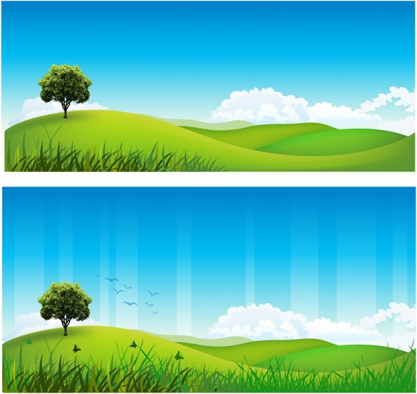600x566 Rolling Hills Free Vector In Adobe Illustrator Ai ( Ai