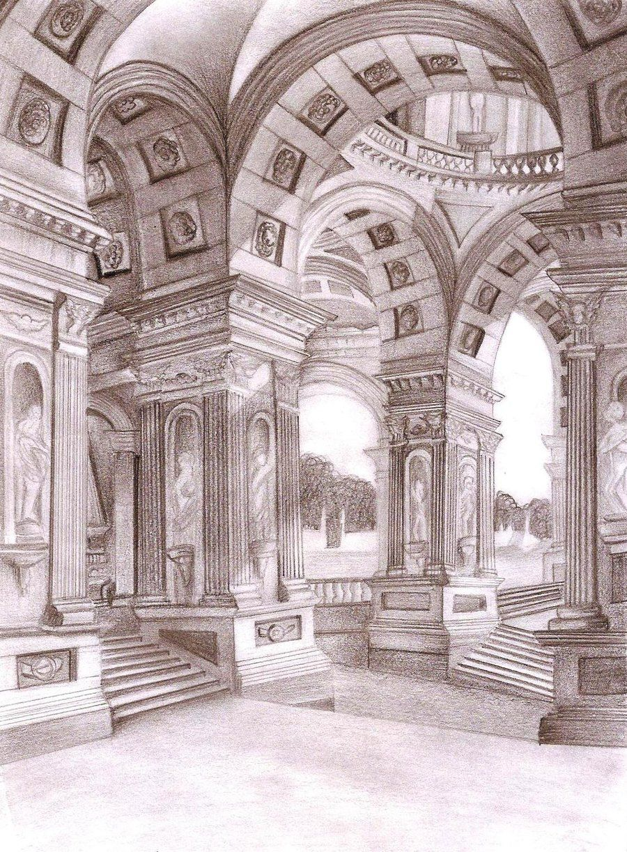 900x1223 Roman Palace Architecture By Historical