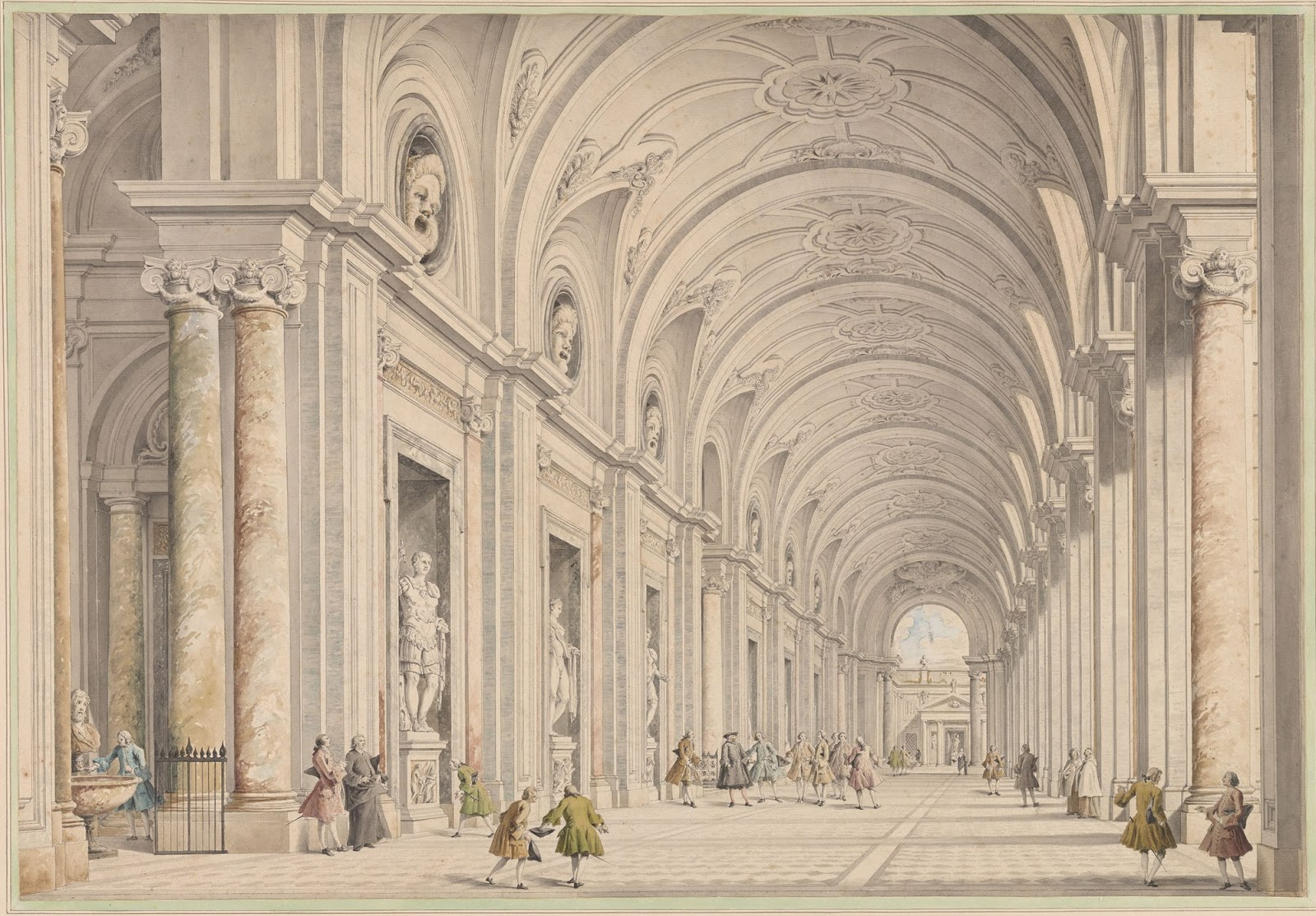 1600x1113 Spencer Alley Gian Paolo Panini And Roman Architecture 18th Century