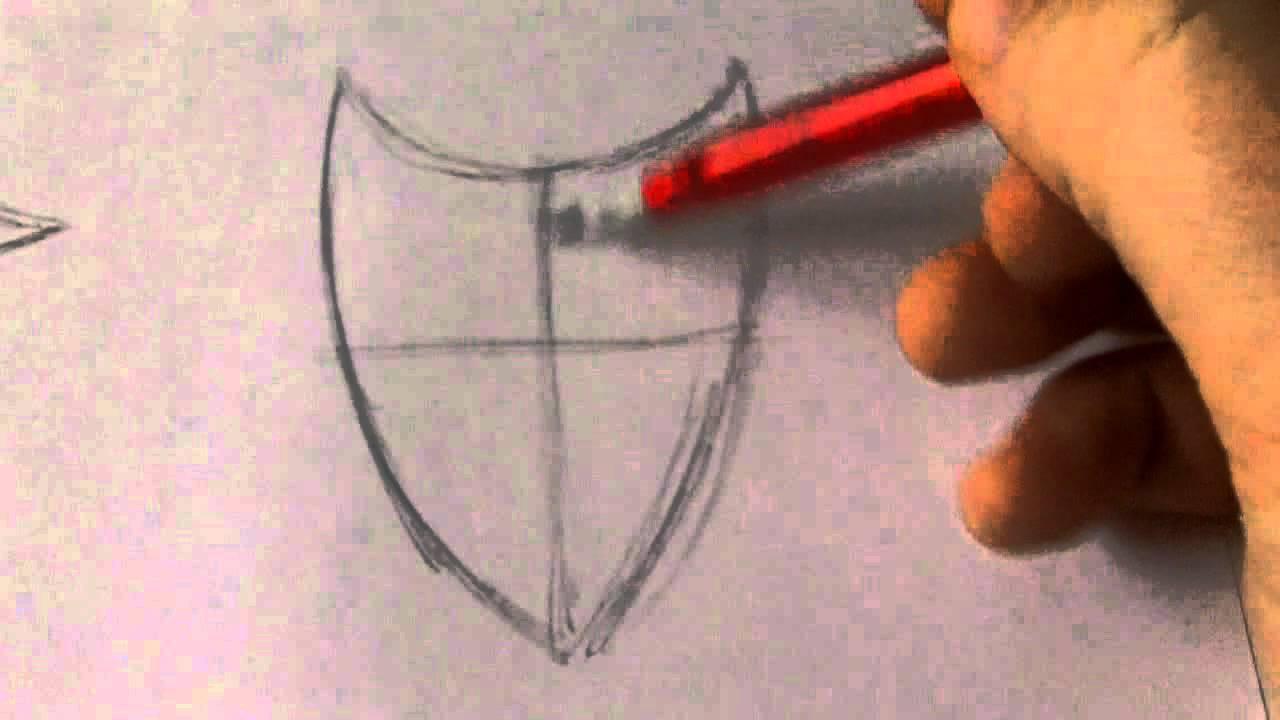 1280x720 How To Draw Shield Ideas