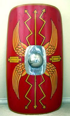 236x389 How To Make A Roman Shield Roman Shield, Roman And School