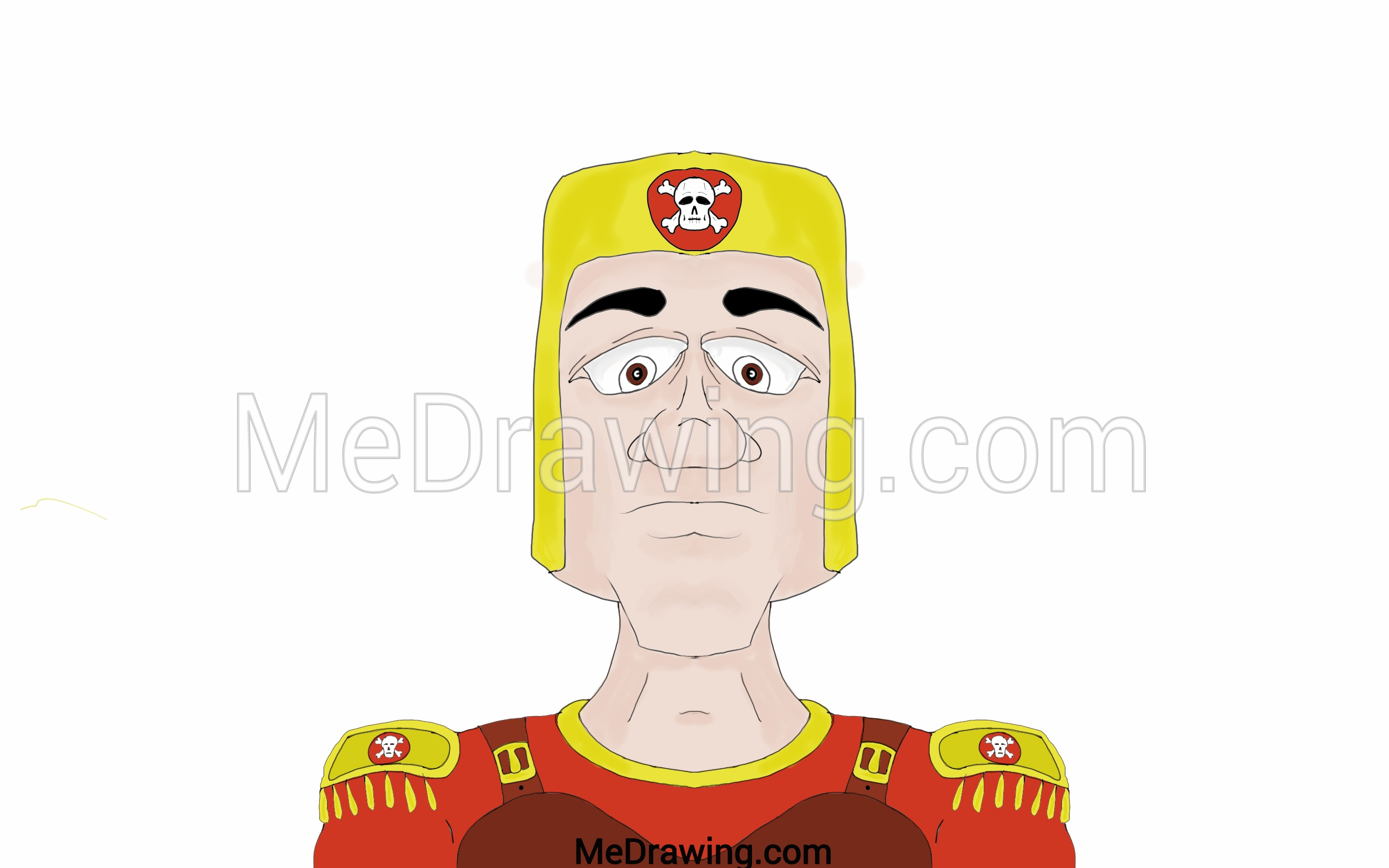 2560x1600 Cartoon Roman Soldier Drawing