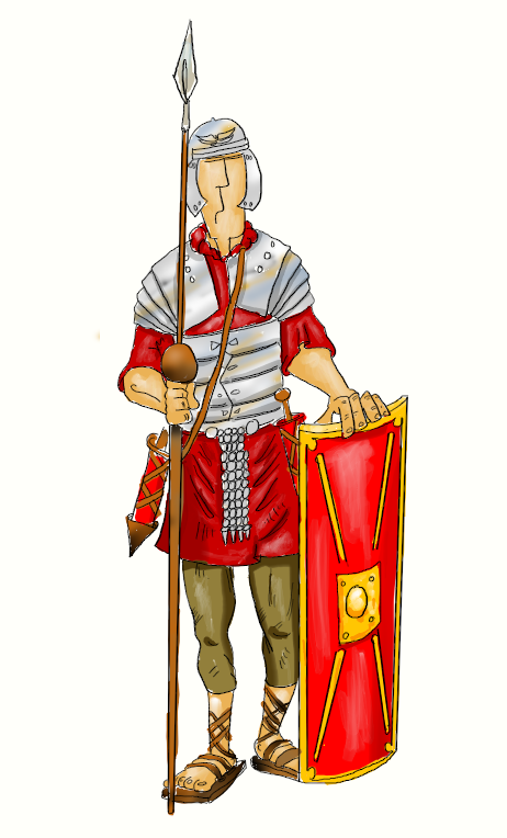 Roman Soldier Drawing At Getdrawings Free For Personal Use