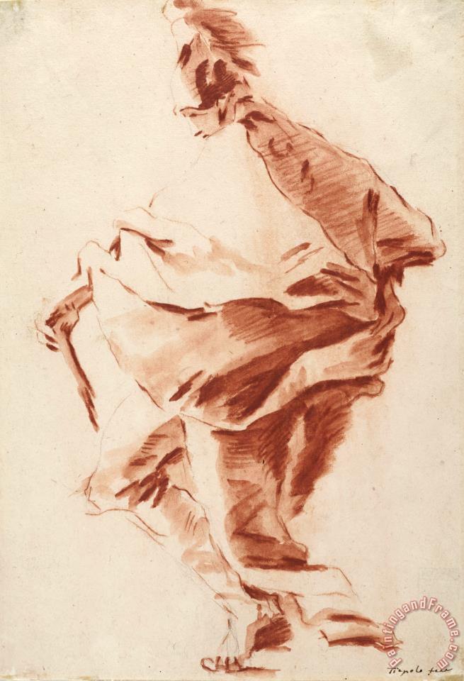 655x960 Giovanni Battista Tiepolo Roman Soldier Painting