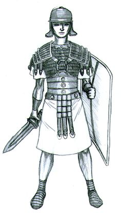 236x424 Roman Soldier Cloak How To Draw A Roman Soldier, Roman Soldier