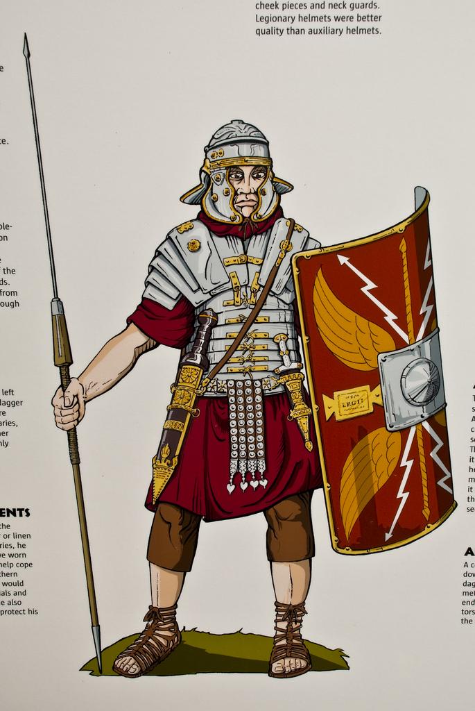 685x1024 Roman Legionary Drawing Nice Drawing Of A Roman Legionary