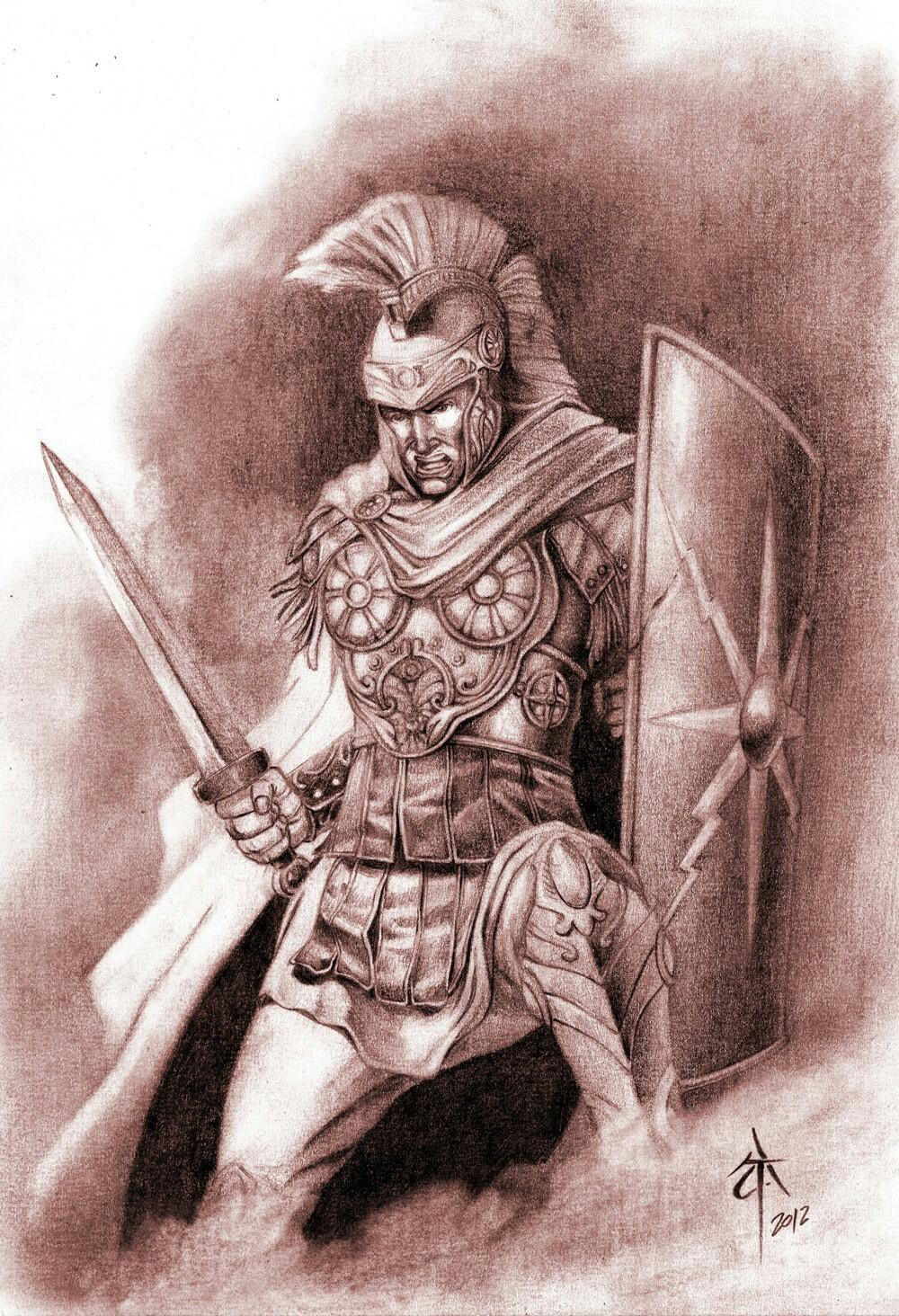 1000x1464 Roman Warrior Roman Warriors, Tattoo And Harry