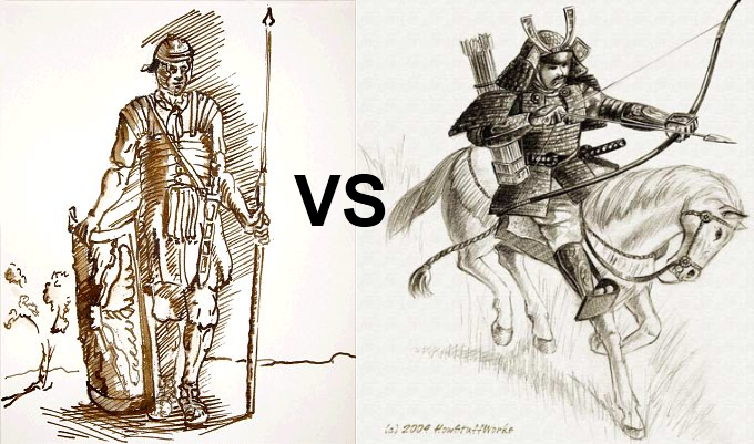 680x401 Who Would Win A Roman Soldier Or A Samurai