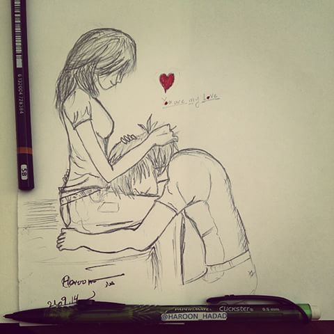 480x480 Romantic Pictures To Draw