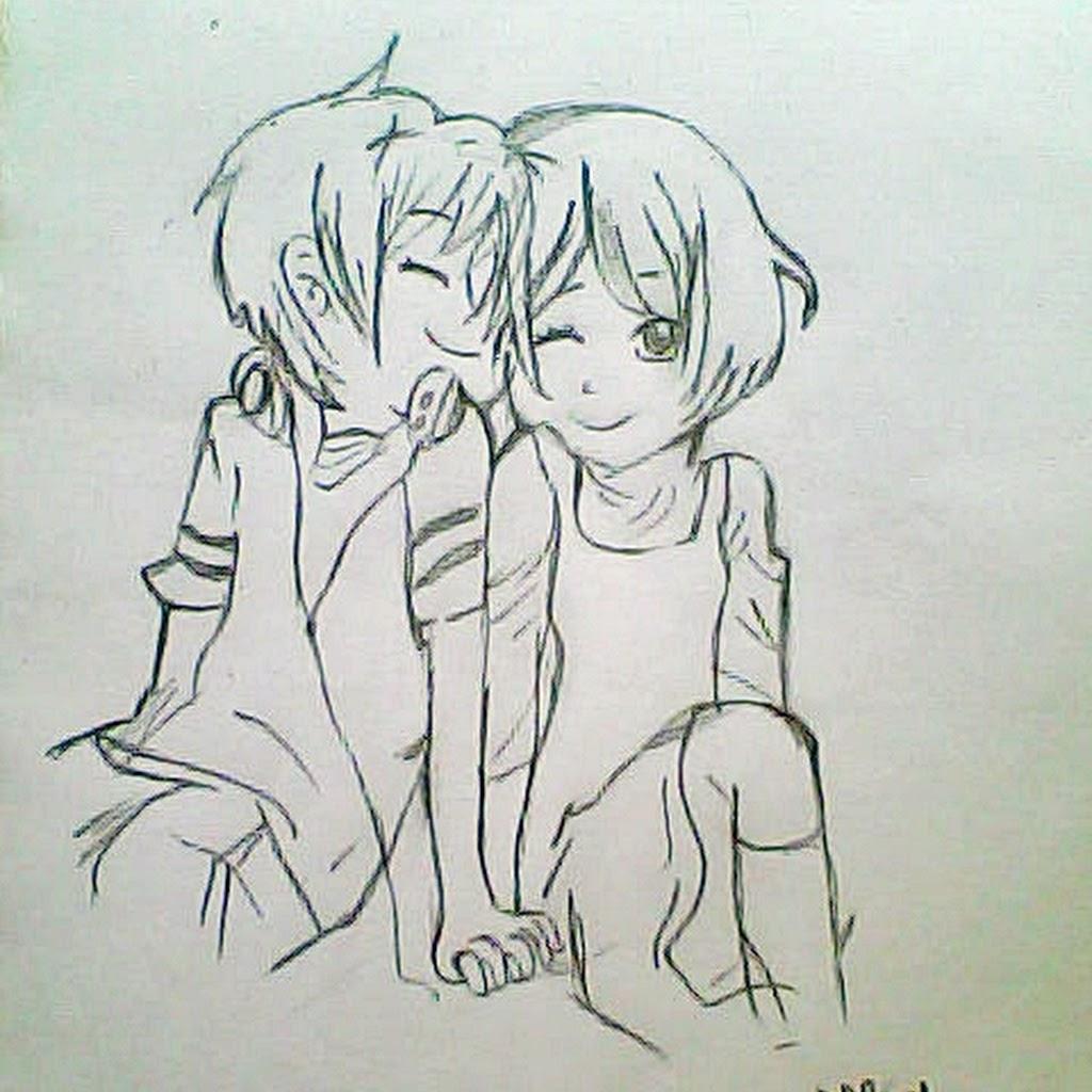 1024x1024 Cute Love Drawings Pencil Art Hd Romantic Sketch Wallpaper Cute