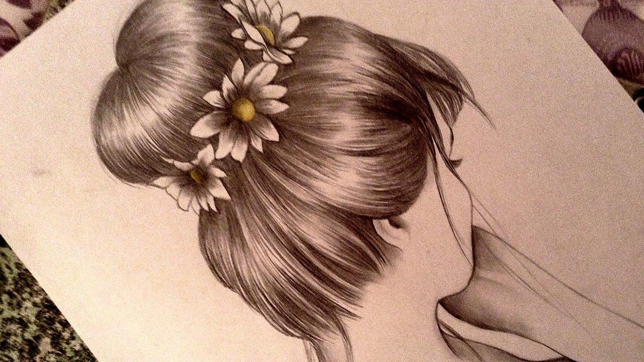 1280x720 Drawing A Romantic Bun