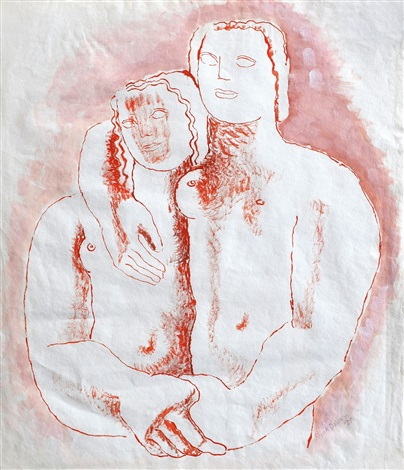 404x470 Romantic, Drawing For Cat.121 By Frank Dobson On Artnet