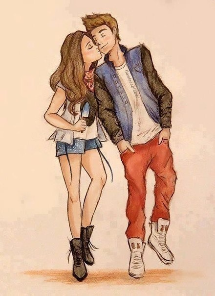 440x604 Gallery Cartoon Couple Drawing Sketch Tumblr,