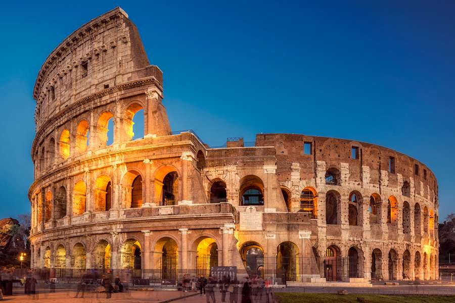 900x600 Colosseum To Be Lit Red For Persecuted Christians Catholic World