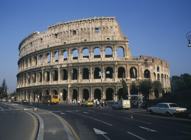 390x285 New Drawings Revealed As Restoration Starts On Rome's Colosseum