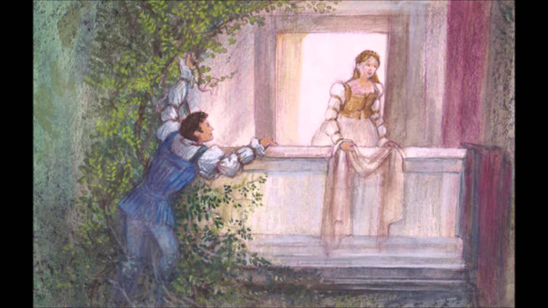1920x1080 Balcony Scene Romeo and Juliet