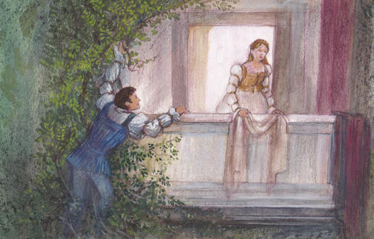 530x339 Romeo and juliet analysis of balcony scene, Homework Service