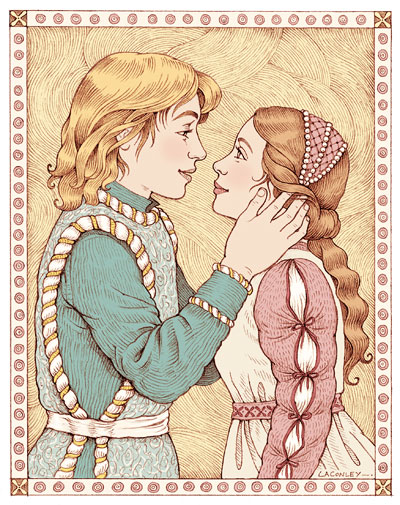 400x505 Busy Drawing Illustration Blog Romeo And Juliet (And Process)