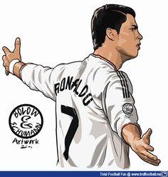 236x248 Cartoon Pictures Of Cristiano Ronaldo Cr7