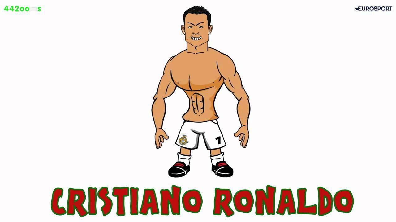 1280x720 Cristiano Ronaldo Draw My Life 442oons